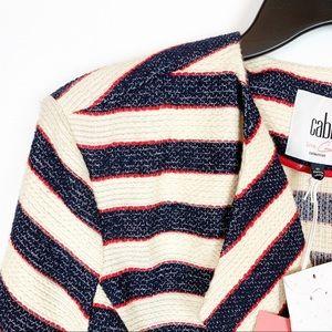 CAbi Jackets & Coats - CABI CRUISE COLLECTION BLAZER NWT.  SIZE 10